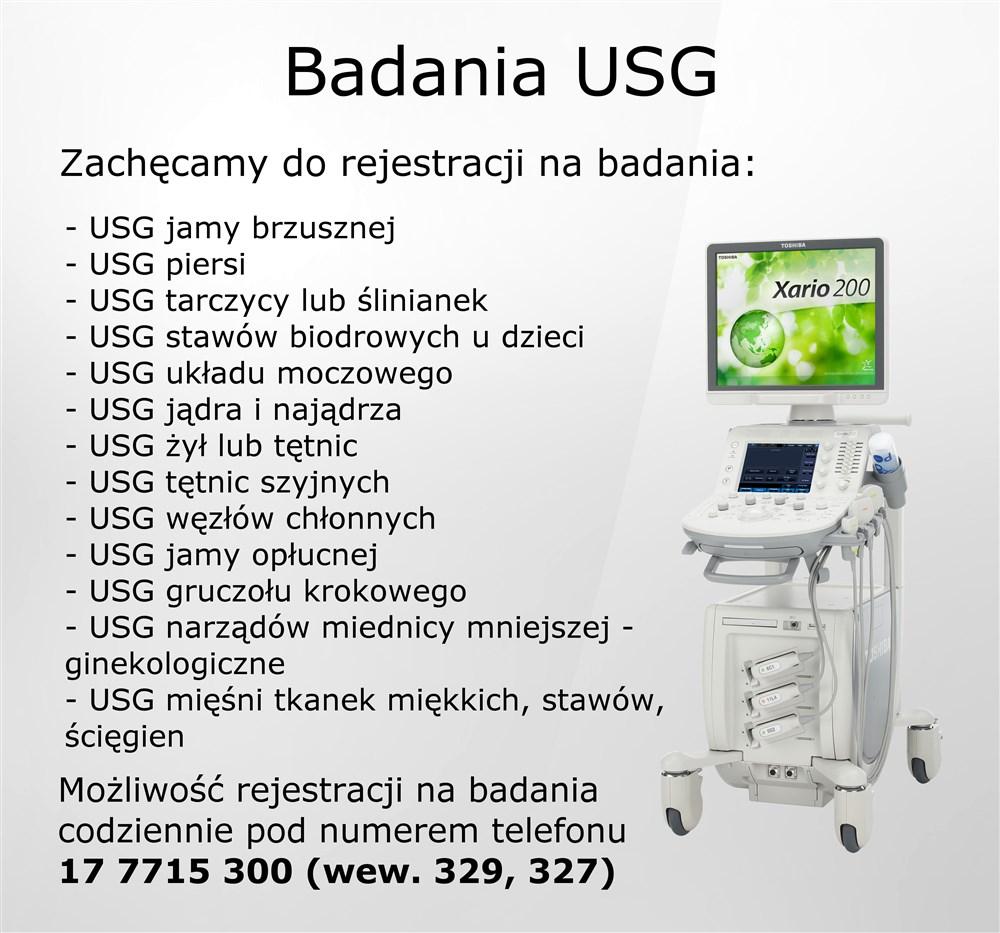 Badania USG
